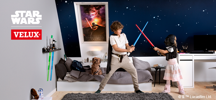 star wars traumwelt im kinderzimmer. Black Bedroom Furniture Sets. Home Design Ideas